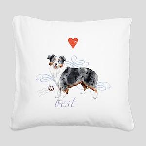 mini amer T1-K Square Canvas Pillow