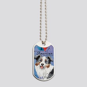 mini amer-key1 Dog Tags
