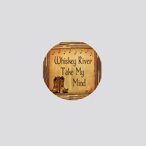 Country Music Coaster Mini Button