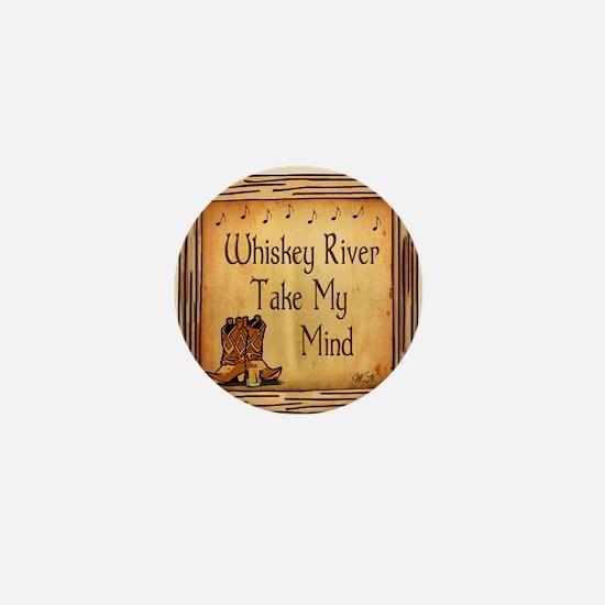 Country Music Coaster Mini Button