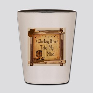 Country Music Coaster Shot Glass