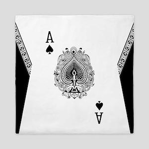 Ace of Spades Queen Duvet
