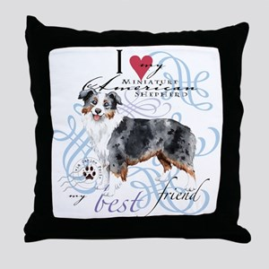 mini amer T1 Throw Pillow