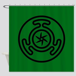 Hecate's Wheel Shower Curtain