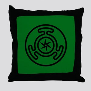 Hecate's Wheel Throw Pillow