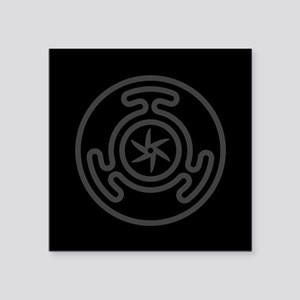 """Hecate's Wheel Square Sticker 3"""" x 3"""""""