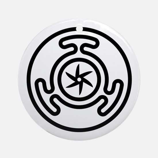 Hecate's Wheel Ornament (Round)