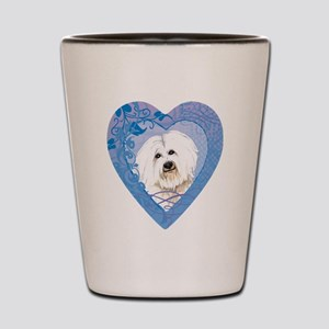 coton-heart Shot Glass