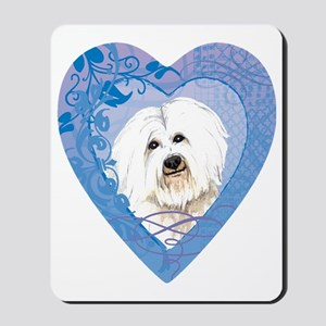coton-heart Mousepad