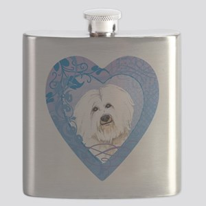 coton-heart Flask