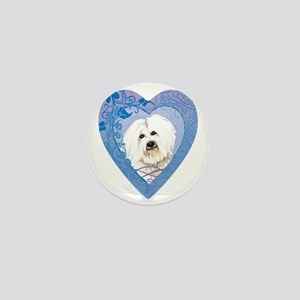 coton-heart Mini Button