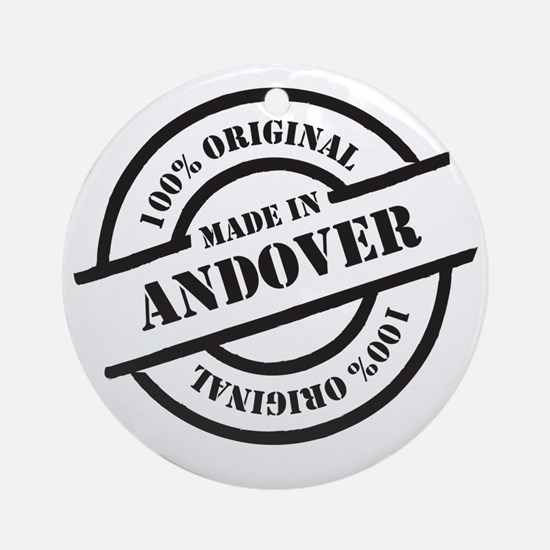 Made in Andover Round Ornament