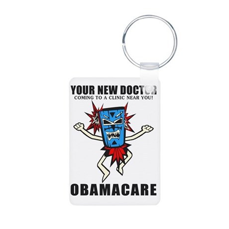 Your New Doctor Aluminum Photo Keychain