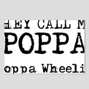 Poppa Wheelie Dirt Bike M Postcards (Package of 8)