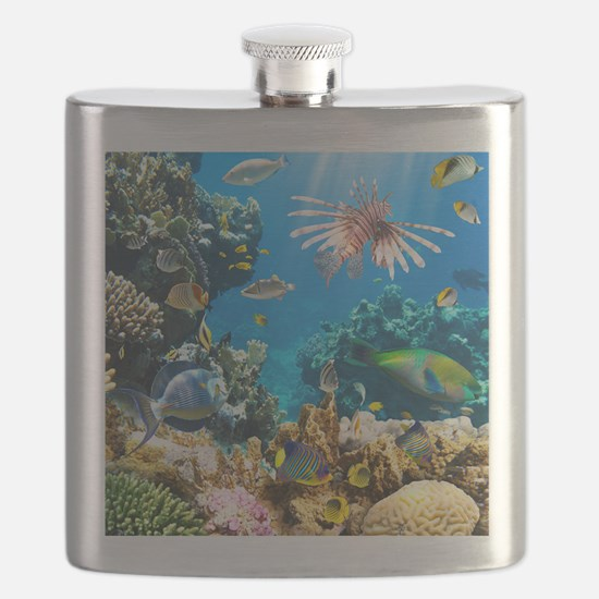 Sea Life Flask