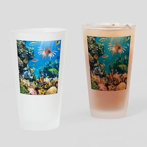 Sea Life Drinking Glass
