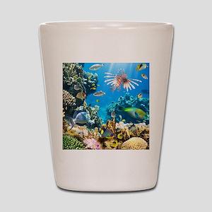 Sea Life Shot Glass