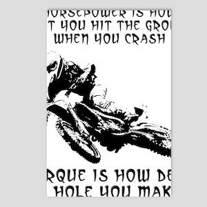 Horsepower versus vs. Tor Postcards (Package of 8)