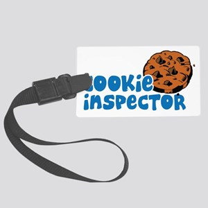 Official Cookie Inspector Large Luggage Tag