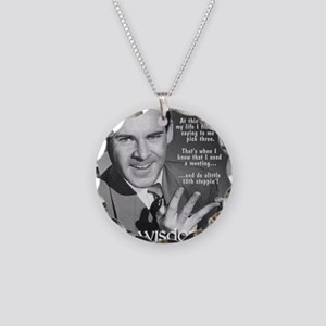Wisdom of the fellowship Necklace Circle Charm