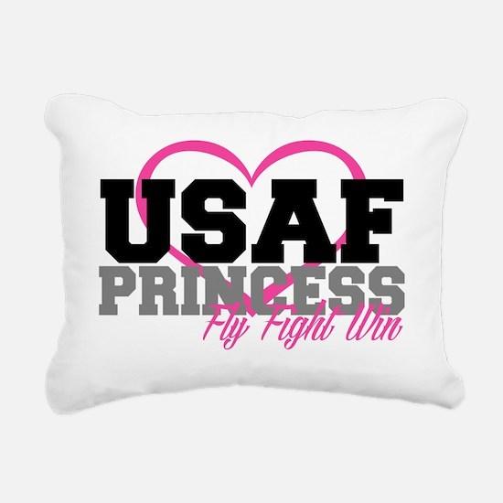 USAF PRINCESS Rectangular Canvas Pillow