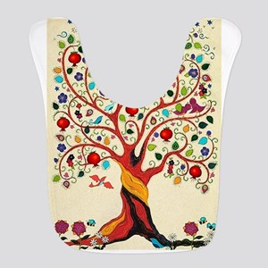 TREE OF LIFE 7 Polyester Baby Bib