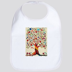 TREE OF LIFE 7 Baby Bib
