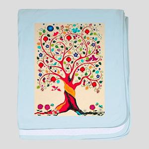 TREE OF LIFE 7 baby blanket