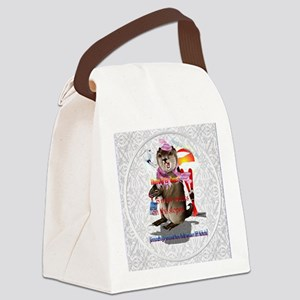 Decisions-Decisions-Groundhog Day Canvas Lunch Bag