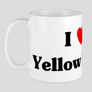 I love Yellow Corn Mug