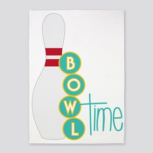 Bowl Time 5'x7'Area Rug