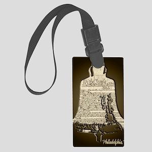 Philadelphia Liberty Bell Large Luggage Tag