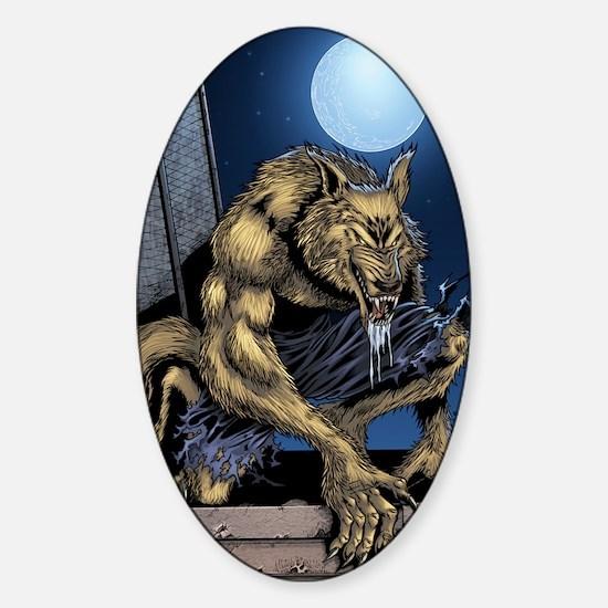 Werewolf Sticker (Oval)