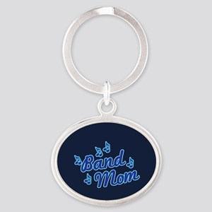 Band Mom Oval Keychain