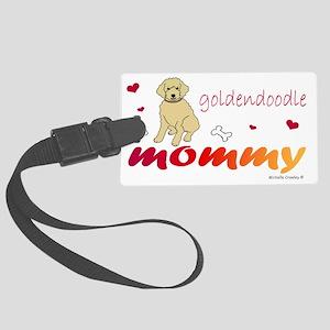 goldendoodle Large Luggage Tag
