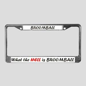WTHIB License Plate Frame