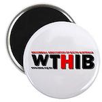 """WTHIB 2.25"""" Magnet (100 pack)"""