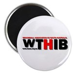 """WTHIB 2.25"""" Magnet (10 pack)"""