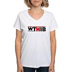 WTHIB Women's V-Neck T-Shirt