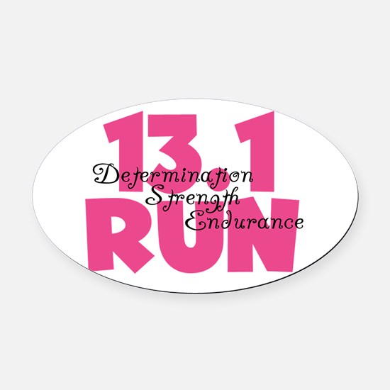 Cute 13.1 Oval Car Magnet
