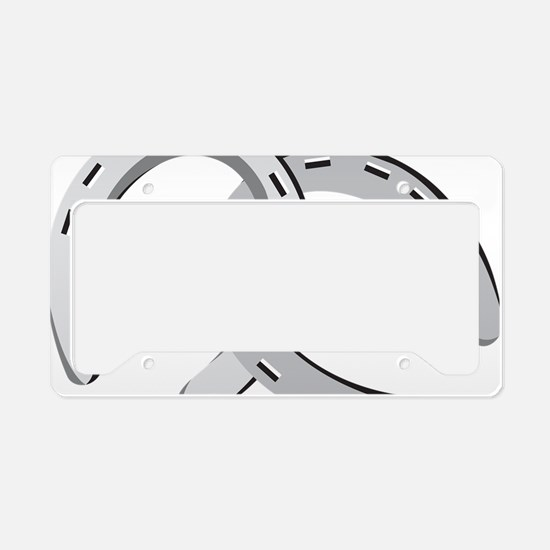 Horseshoes License Plate Holder
