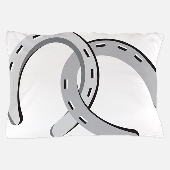 Horseshoes Pillow Case