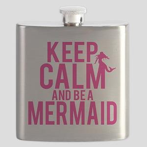 BE A MERMAID Flask