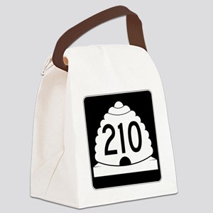 Powder Highway - Utah S.R. 210 -  Canvas Lunch Bag