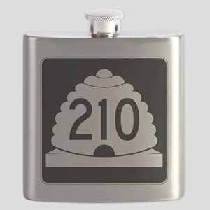 Powder Highway - Utah S.R. 210 - Alta Snowbi Flask