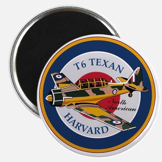 T6 Texan Harvard North American Abzeichen Magnet