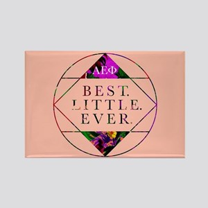 Alpha Epsilon Phi Best Little Rectangle Magnet