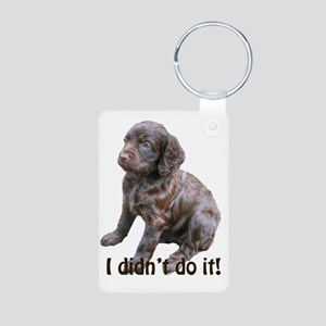 boykin spaniel puppy Aluminum Photo Keychain