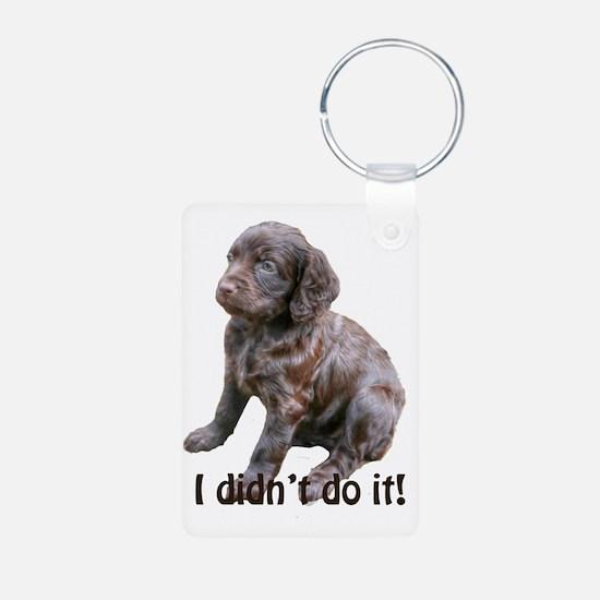 boykin spaniel puppy Keychains