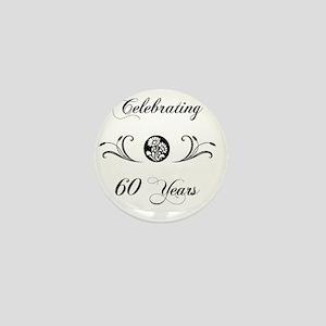 60th Wedding Anniversary Gifts Mini Button